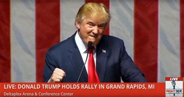 Trump-Tirade
