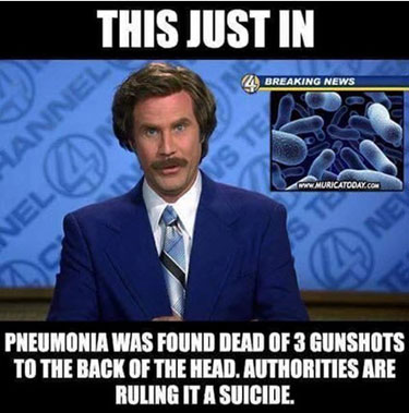 hillarypneumoniadead